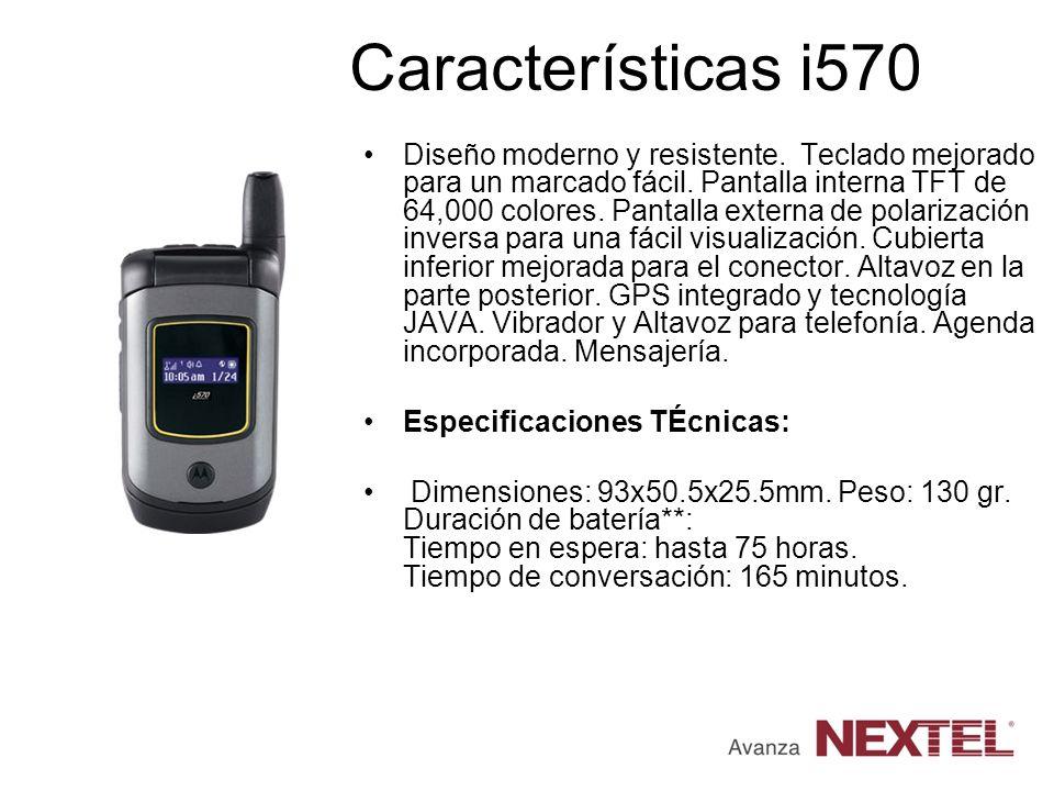 Características i570