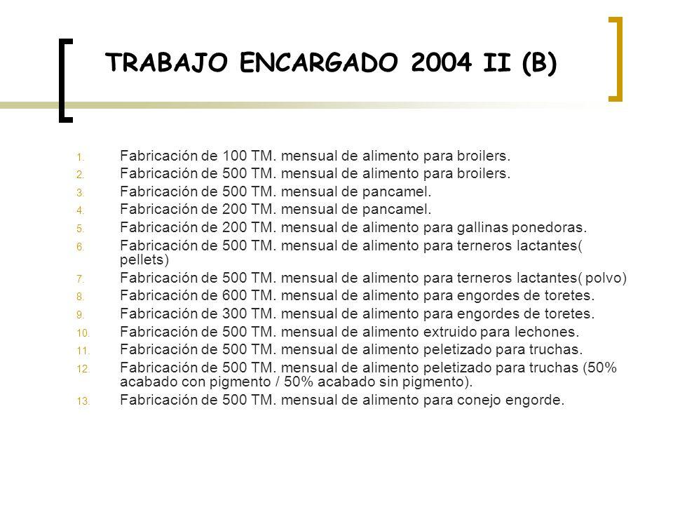 TRABAJO ENCARGADO 2004 II (B)