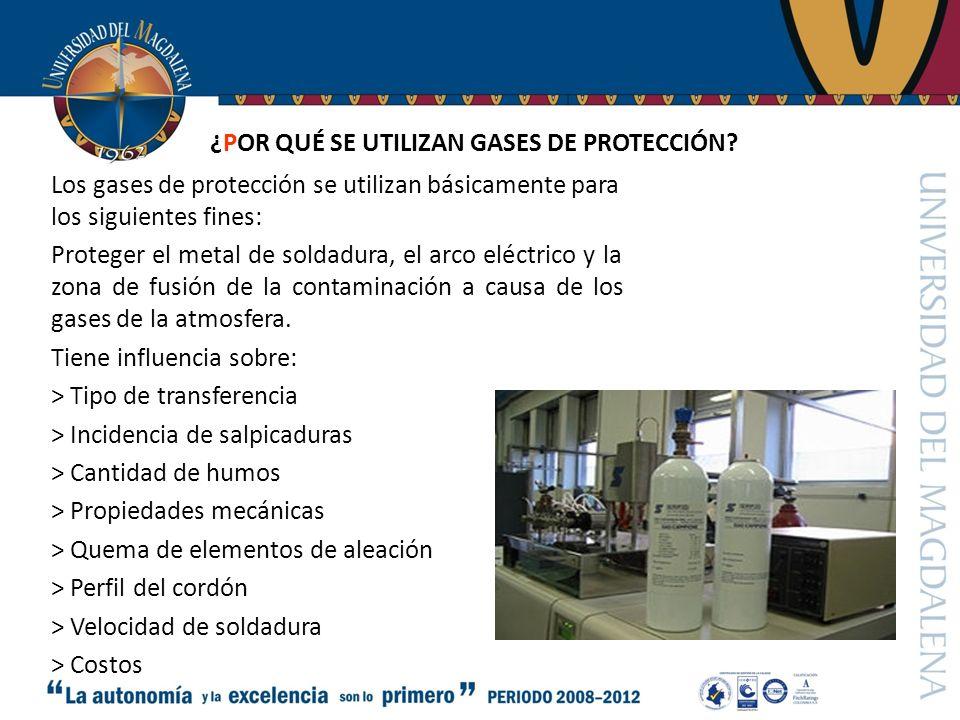 ¿POR QUÉ SE UTILIZAN GASES DE PROTECCIÓN