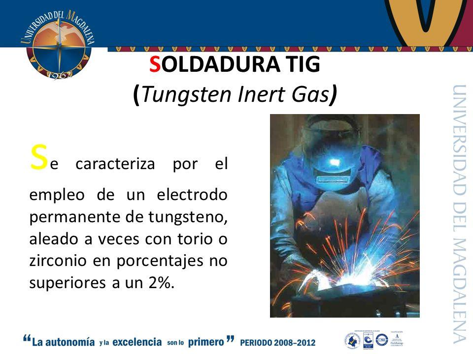 SOLDADURA TIG (Tungsten Inert Gas)