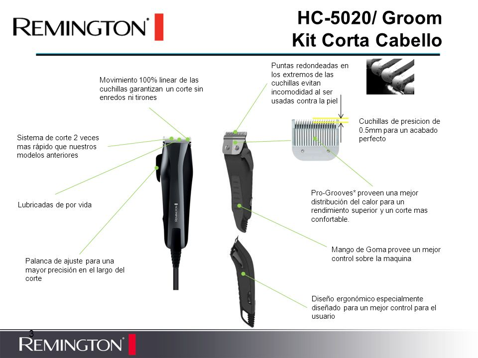 HC-5020/ Groom Kit Corta Cabello