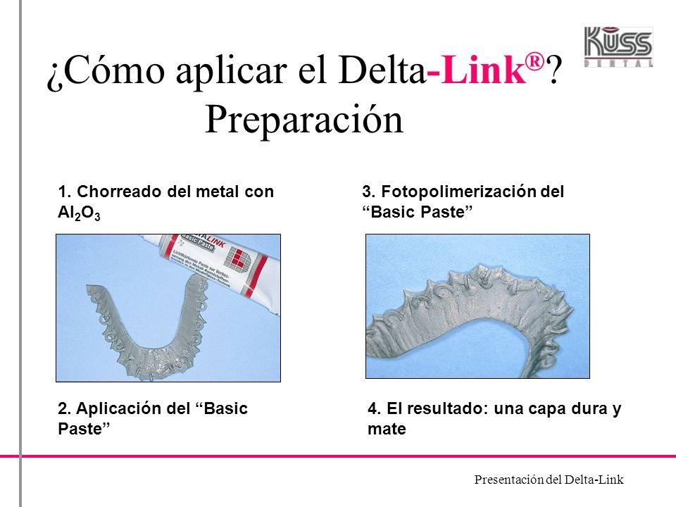 ¿Cómo aplicar el Delta-Link® Preparación