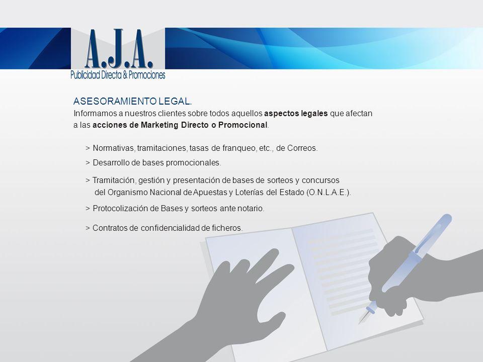 ASESORAMIENTO LEGAL. Informamos a nuestros clientes sobre todos aquellos aspectos legales que afectan.