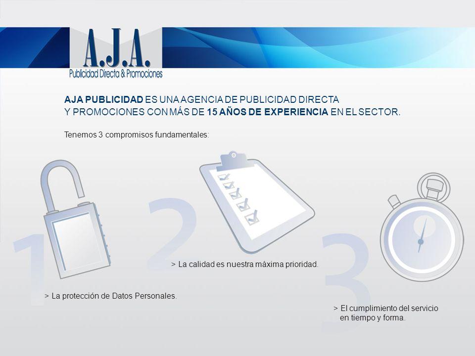 AJA PUBLICIDAD ES UNA AGENCIA DE PUBLICIDAD DIRECTA