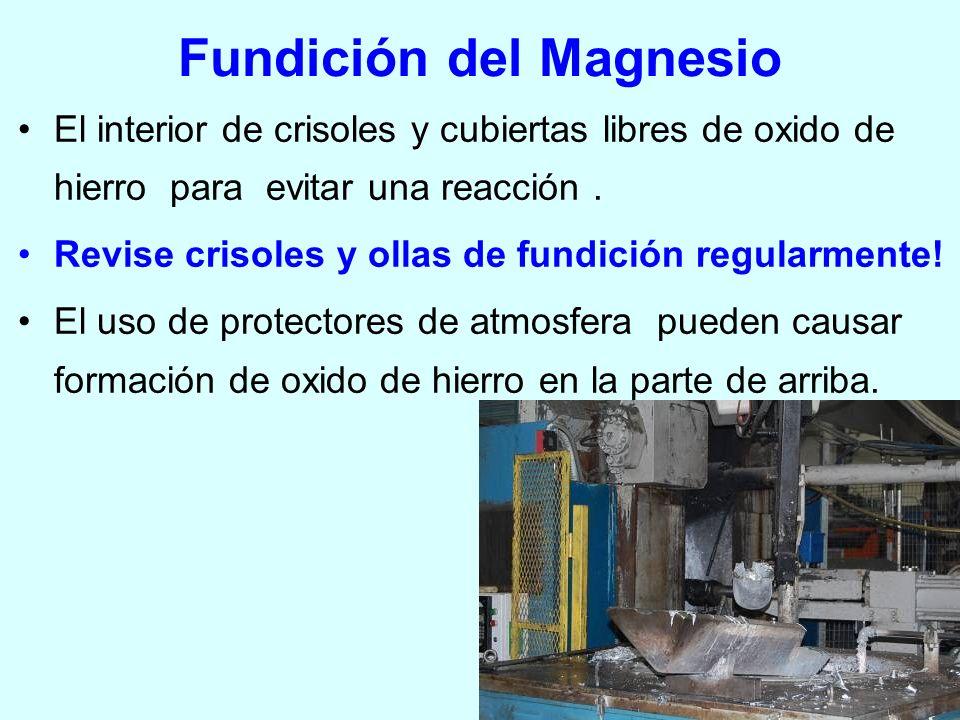 Fundición del Magnesio