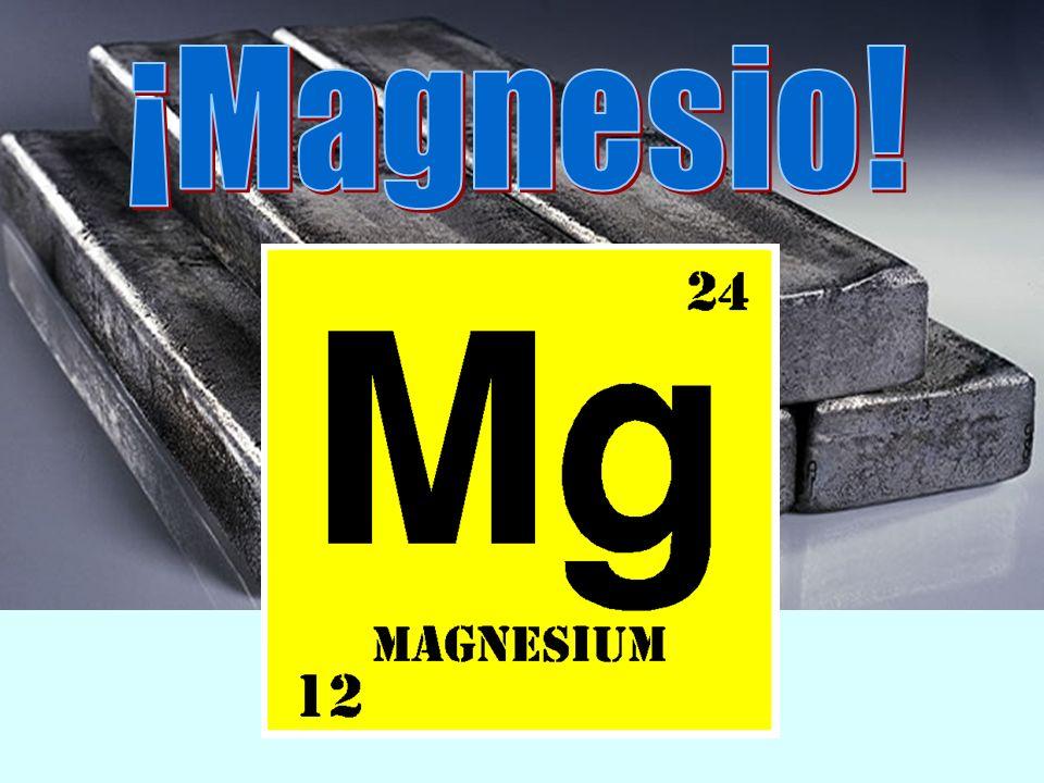 ¡Magnesio!