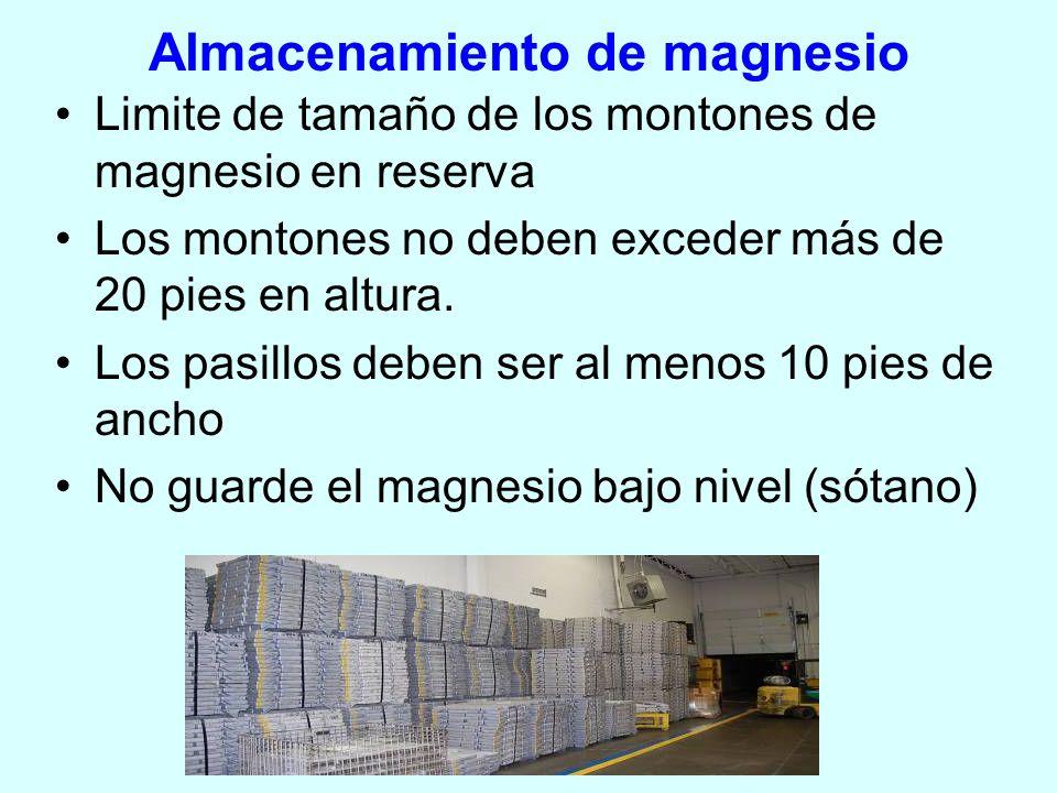 Almacenamiento de magnesio