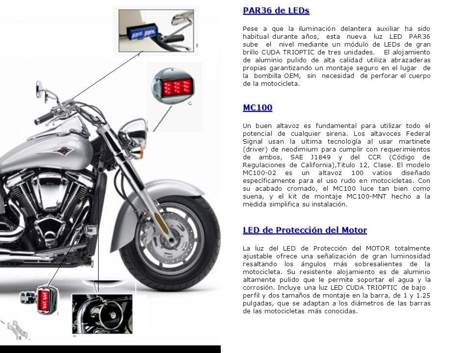 LED de Protección del Motor