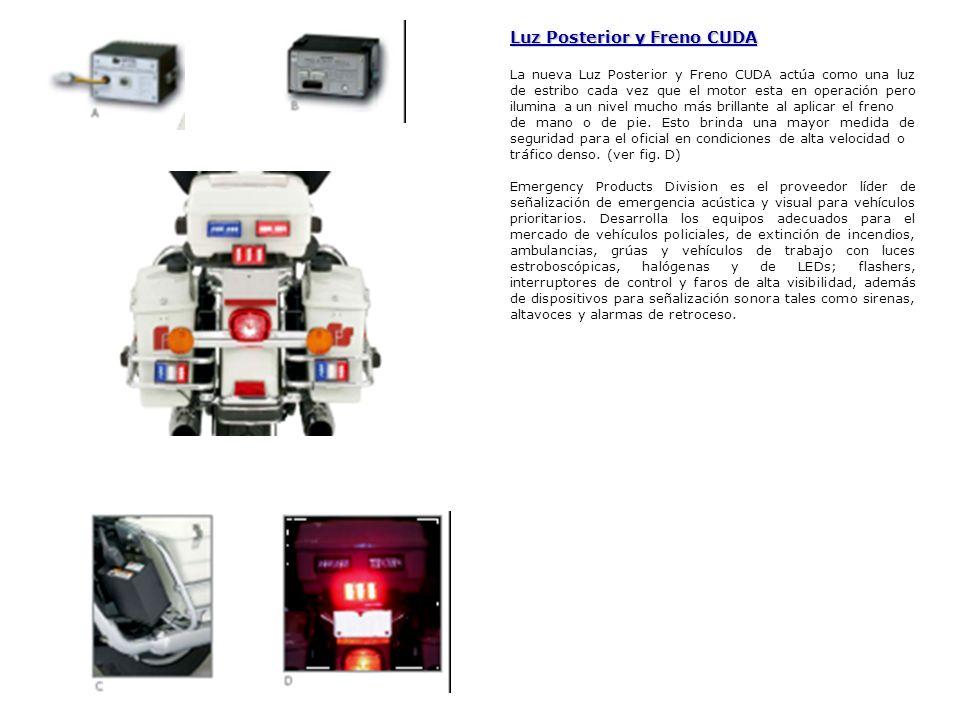 Luz Posterior y Freno CUDA