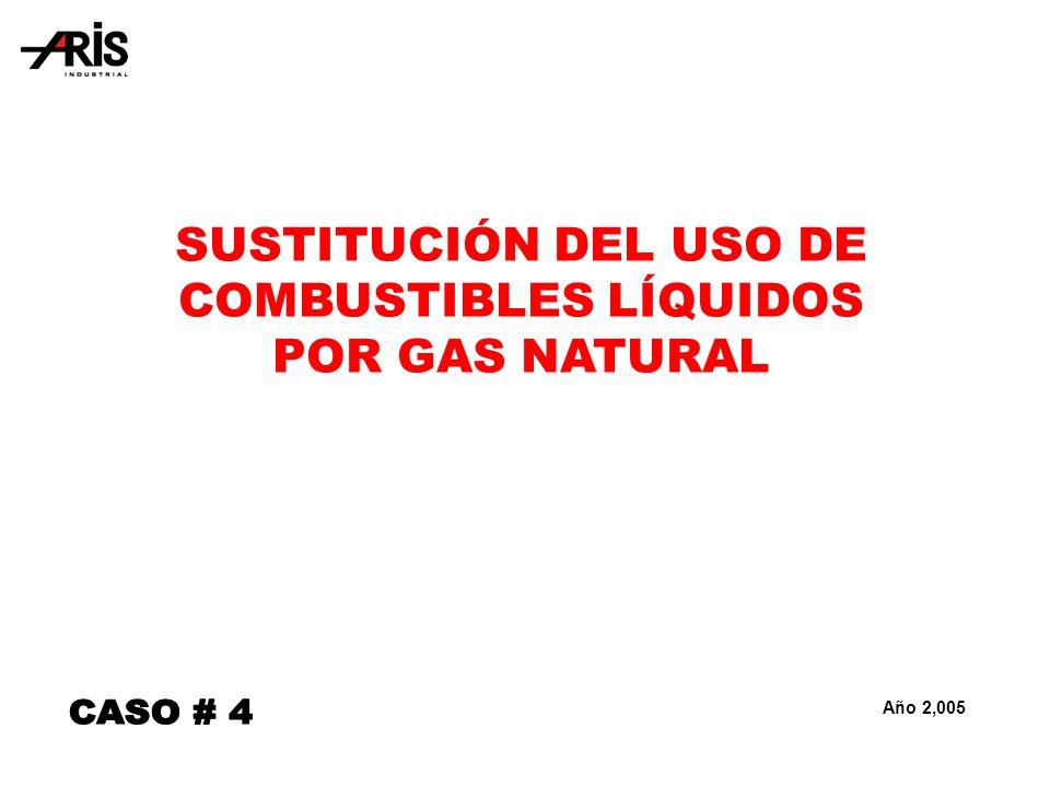 SUSTITUCIÓN DEL USO DE COMBUSTIBLES LÍQUIDOS POR GAS NATURAL