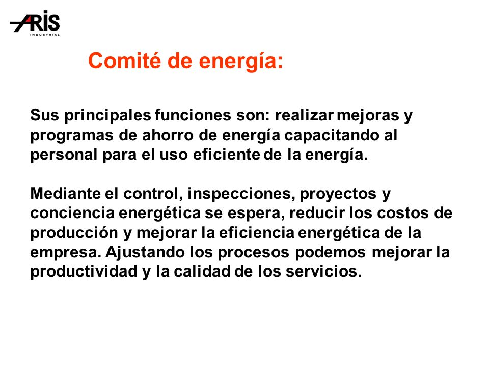 Comité de energía: