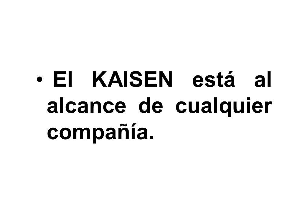 El KAISEN está al alcance de cualquier compañía.