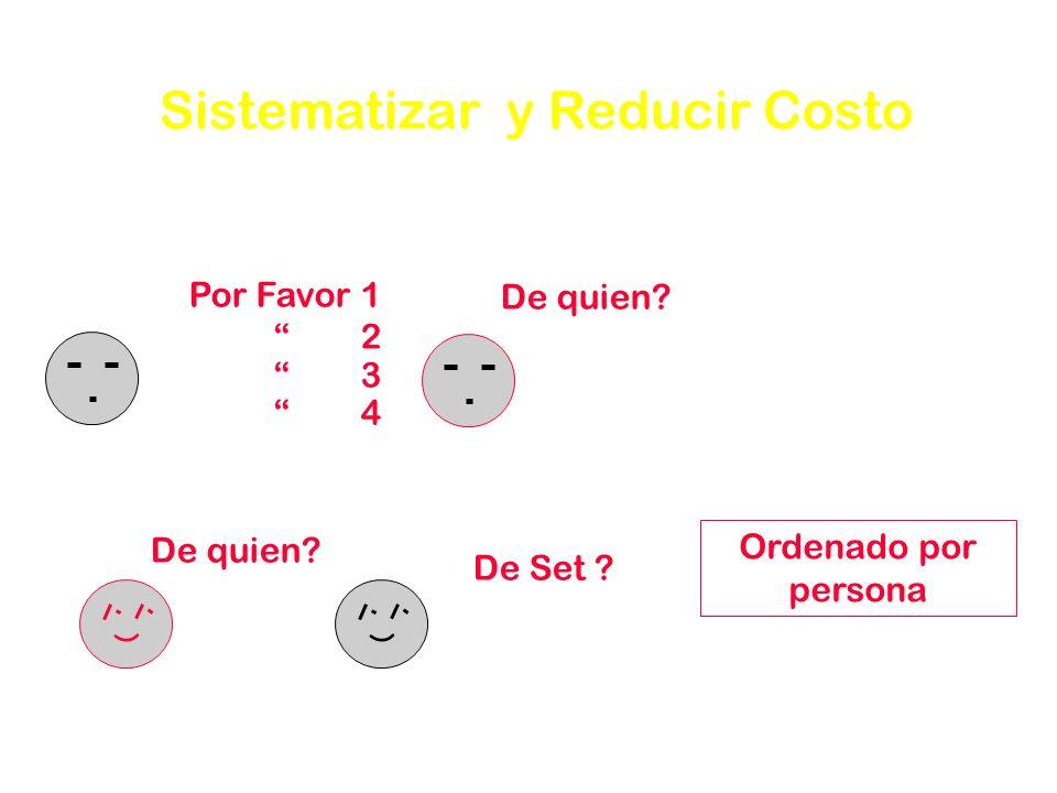 Sistematizar y Reducir Costo