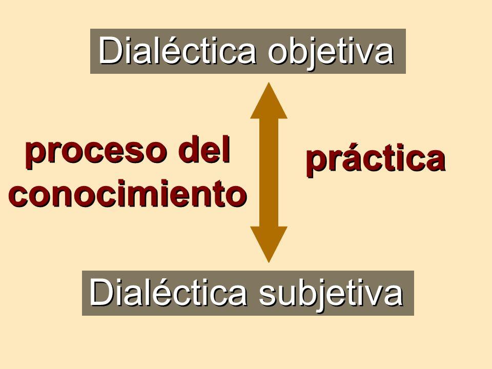proceso del conocimiento