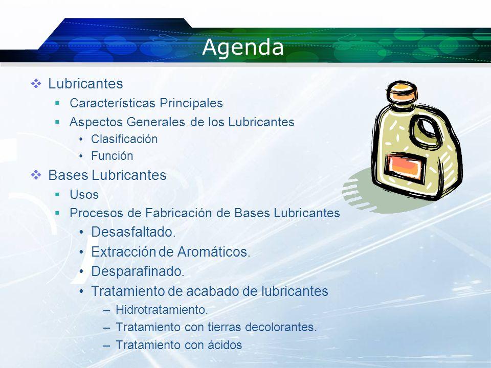 Agenda Lubricantes Bases Lubricantes Desasfaltado.