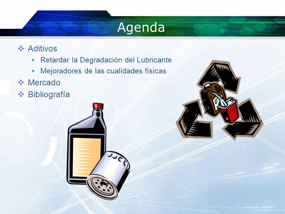 Agenda Aditivos Mercado Bibliografía