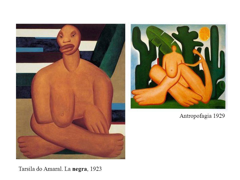 Antropofagia 1929 Tarsila do Amaral. La negra, 1923
