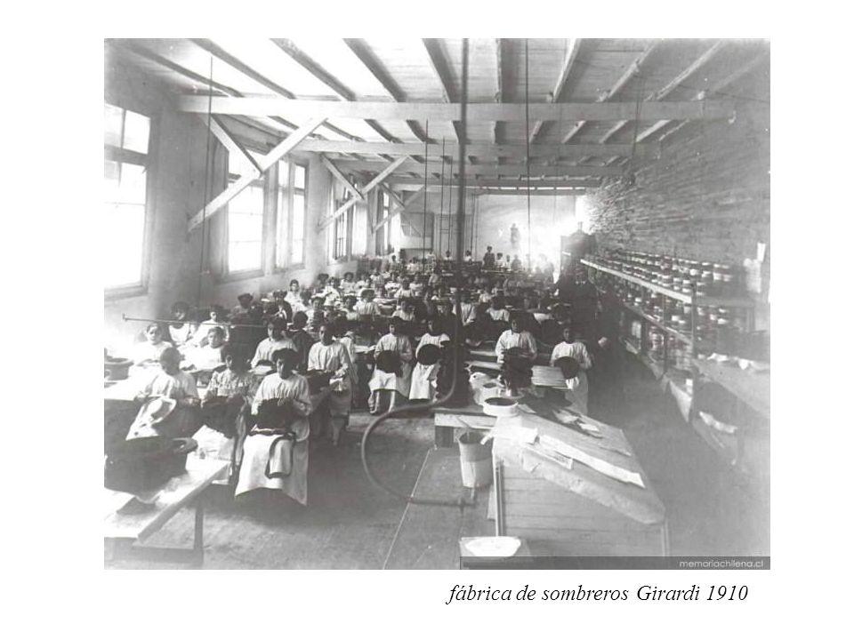 fábrica de sombreros Girardi 1910