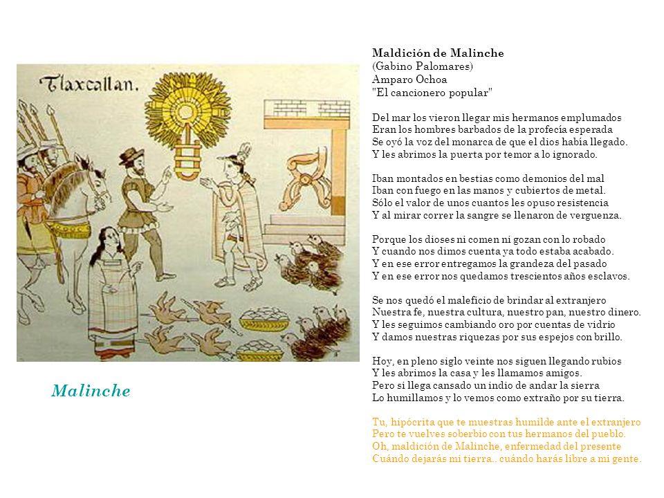 Malinche Maldición de Malinche (Gabino Palomares)