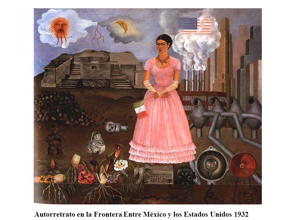 Autorretrato en la Frontera Entre México y los Estados Unidos 1932