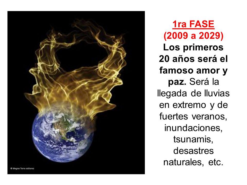 1ra FASE (2009 a 2029)