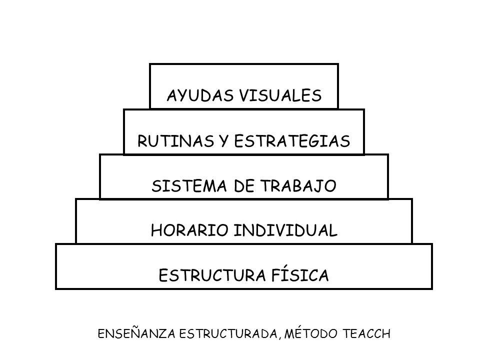 ENSEÑANZA ESTRUCTURADA, MÉTODO TEACCH