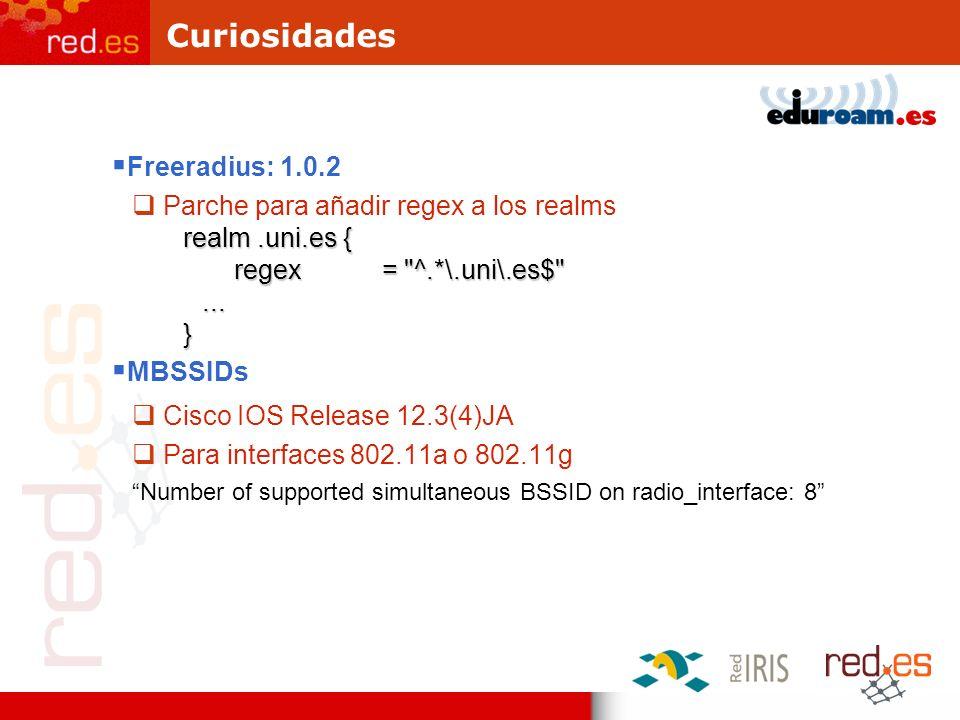 Curiosidades Freeradius: 1.0.2 Parche para añadir regex a los realms