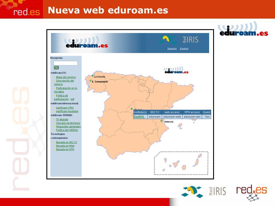 Nueva web eduroam.es