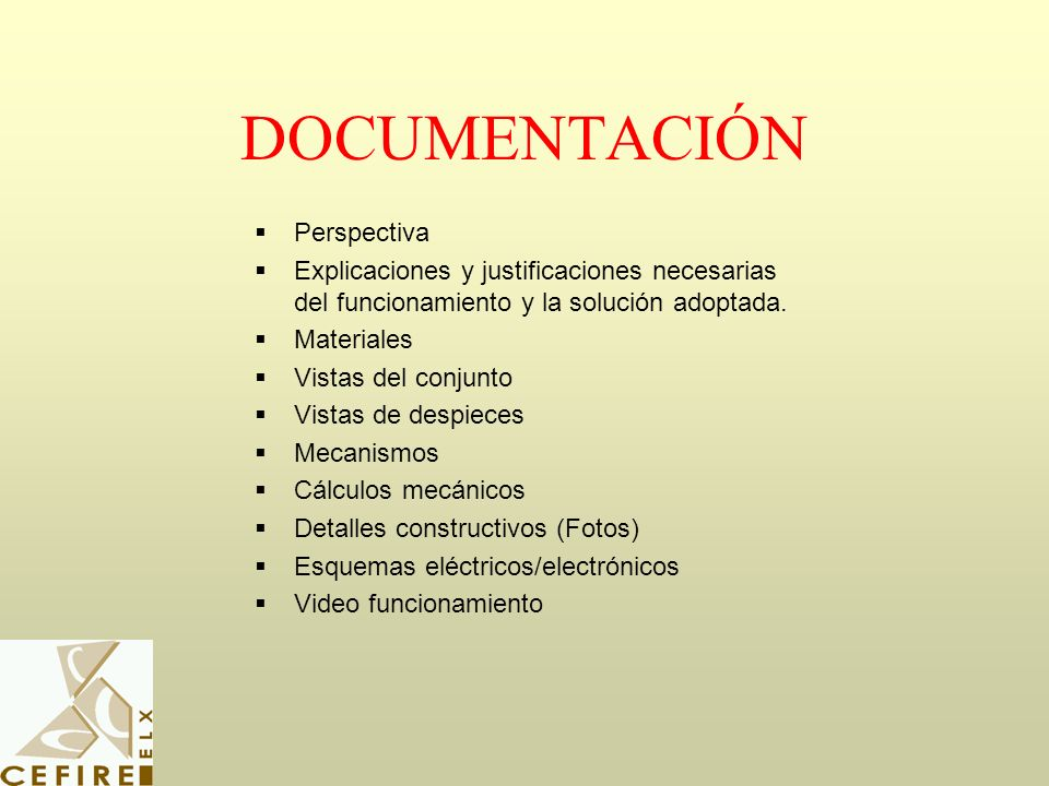 DOCUMENTACIÓN Perspectiva