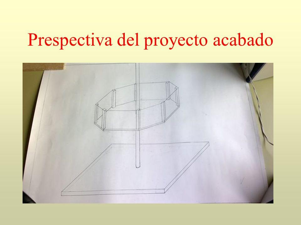 Prespectiva del proyecto acabado