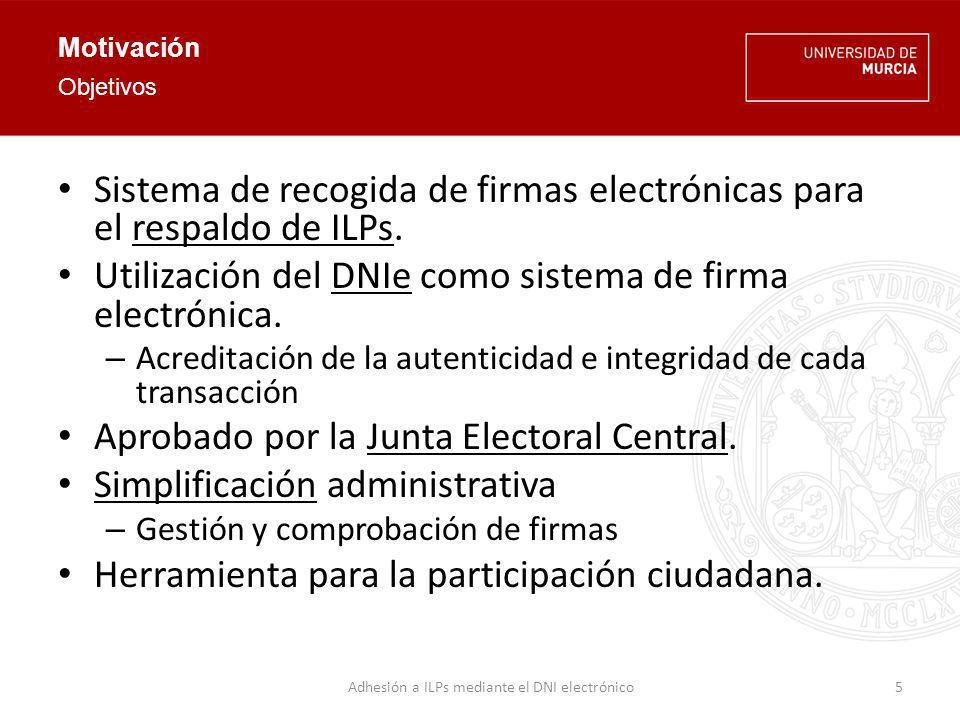 Adhesión a ILPs mediante el DNI electrónico