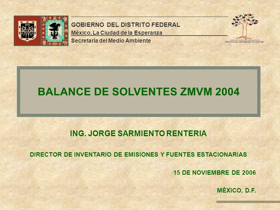 BALANCE DE SOLVENTES ZMVM 2004