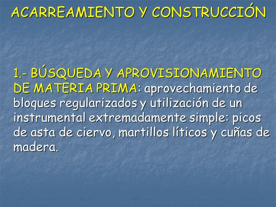 ACARREAMIENTO Y CONSTRUCCIÓN
