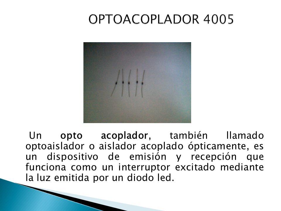 OPTOACOPLADOR 4005