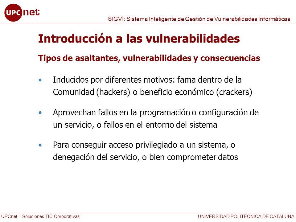 Introducción a las vulnerabilidades