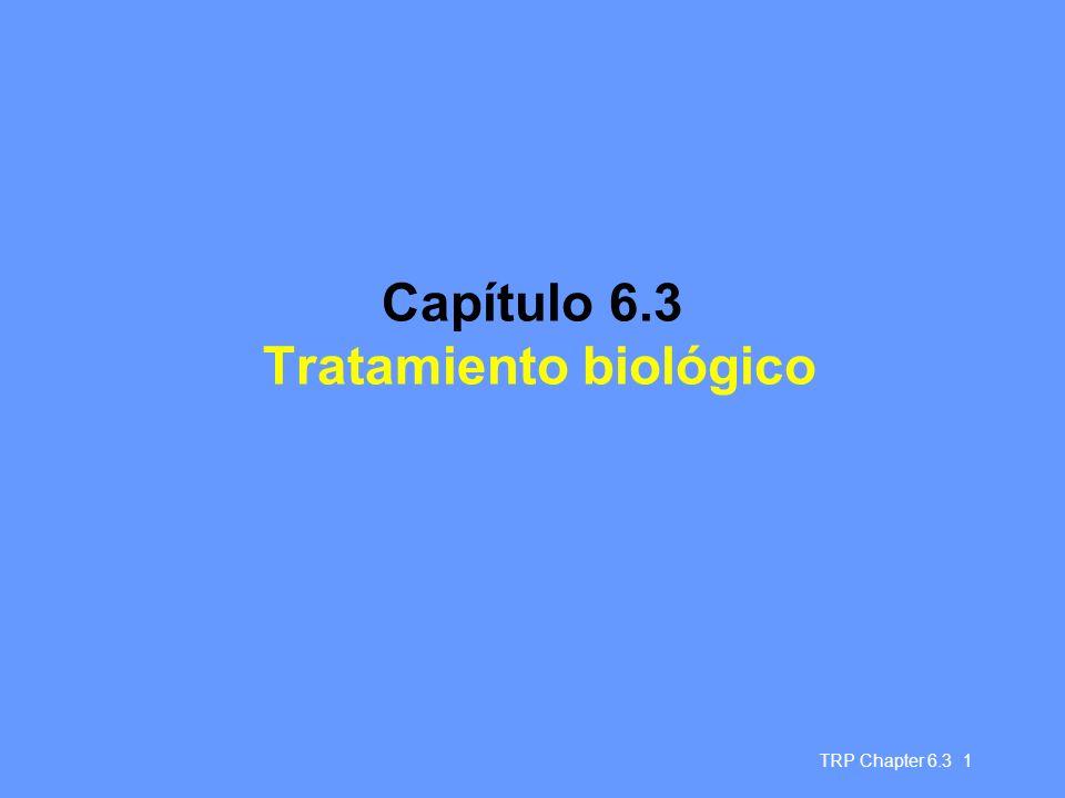 Capítulo 6.3 Tratamiento biológico