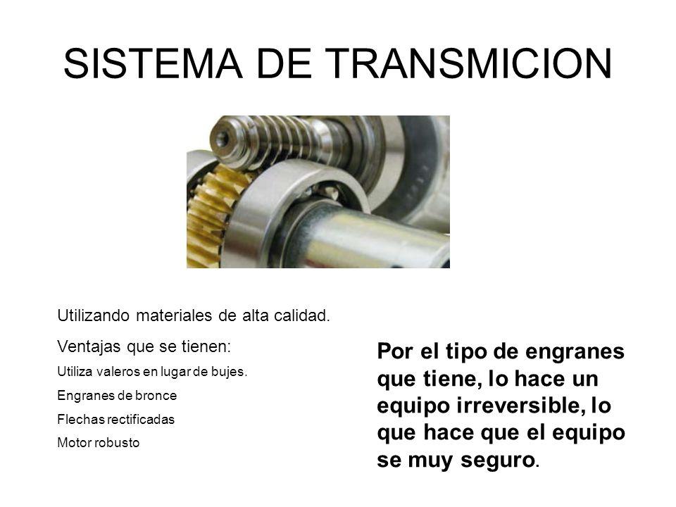 SISTEMA DE TRANSMICION