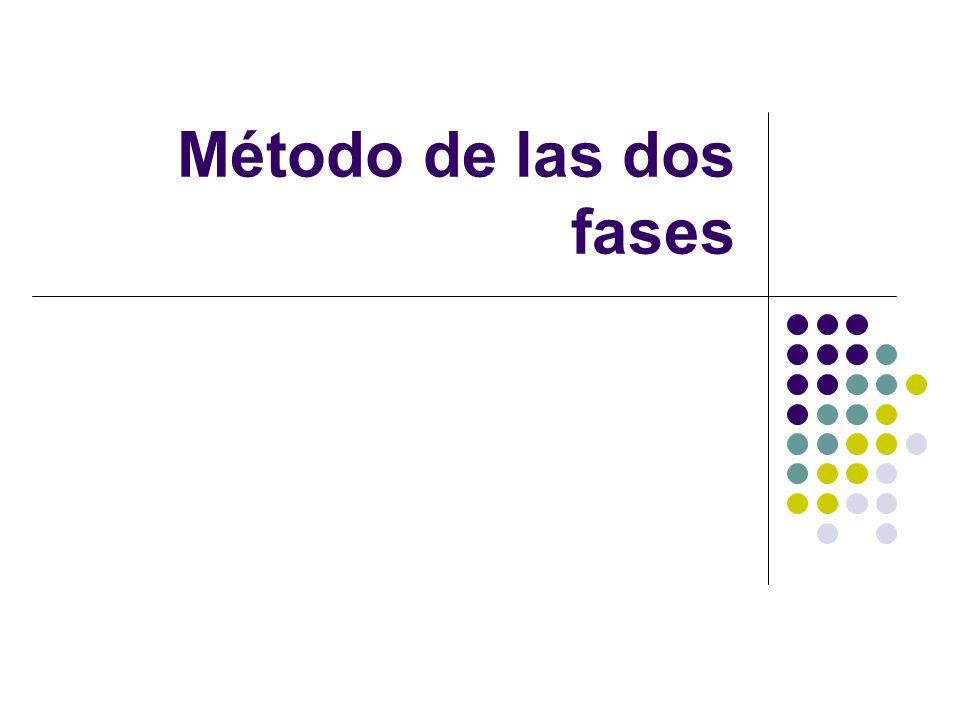 Método de las dos fases