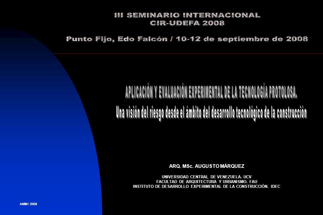 III SEMINARIO INTERNACIONAL CIR-UDEFA 2008