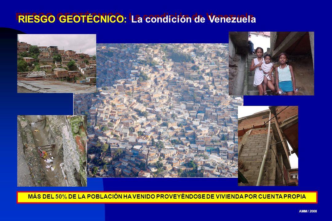 RIESGO GEOTÉCNICO: La condición de Venezuela