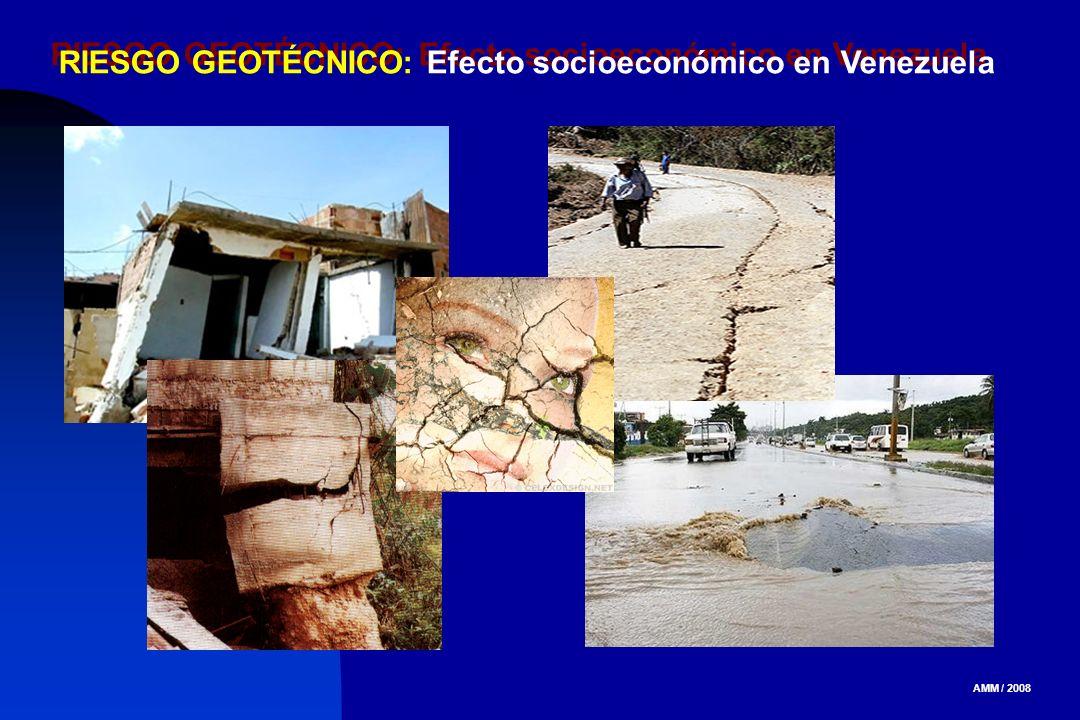 RIESGO GEOTÉCNICO: Efecto socioeconómico en Venezuela