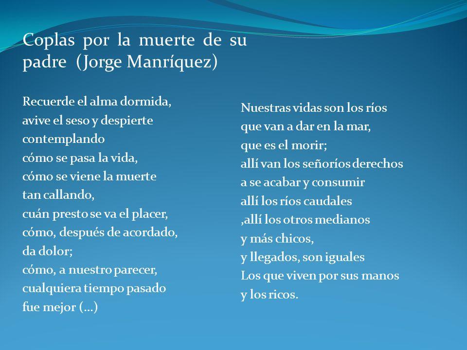 Coplas por la muerte de su padre (Jorge Manríquez)