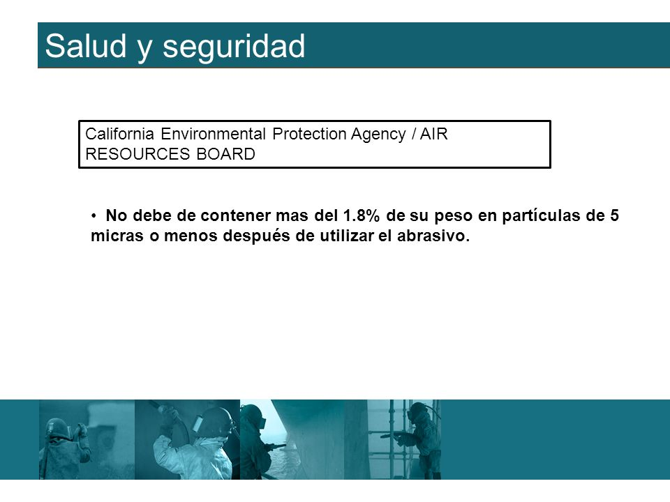 Salud y seguridad California Environmental Protection Agency / AIR RESOURCES BOARD.