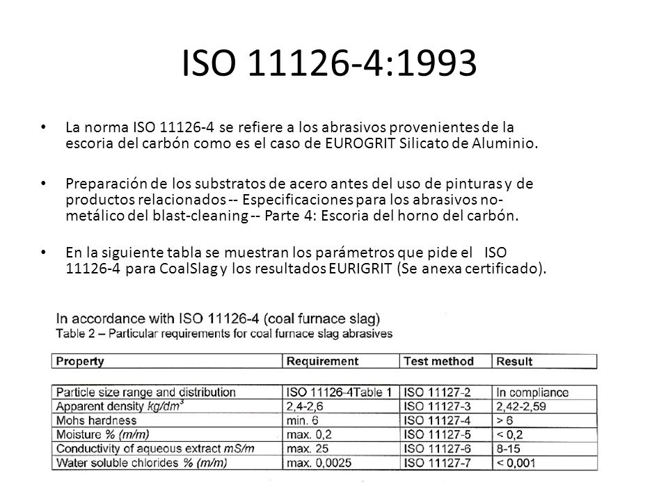 ISO 11126-4:1993