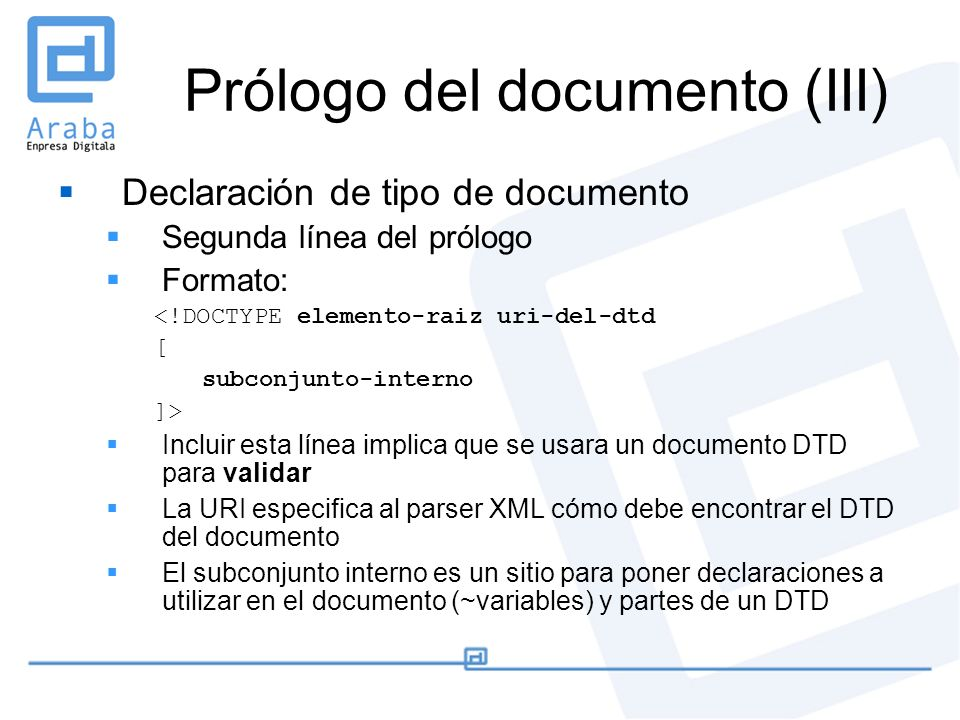 Prólogo del documento (III)