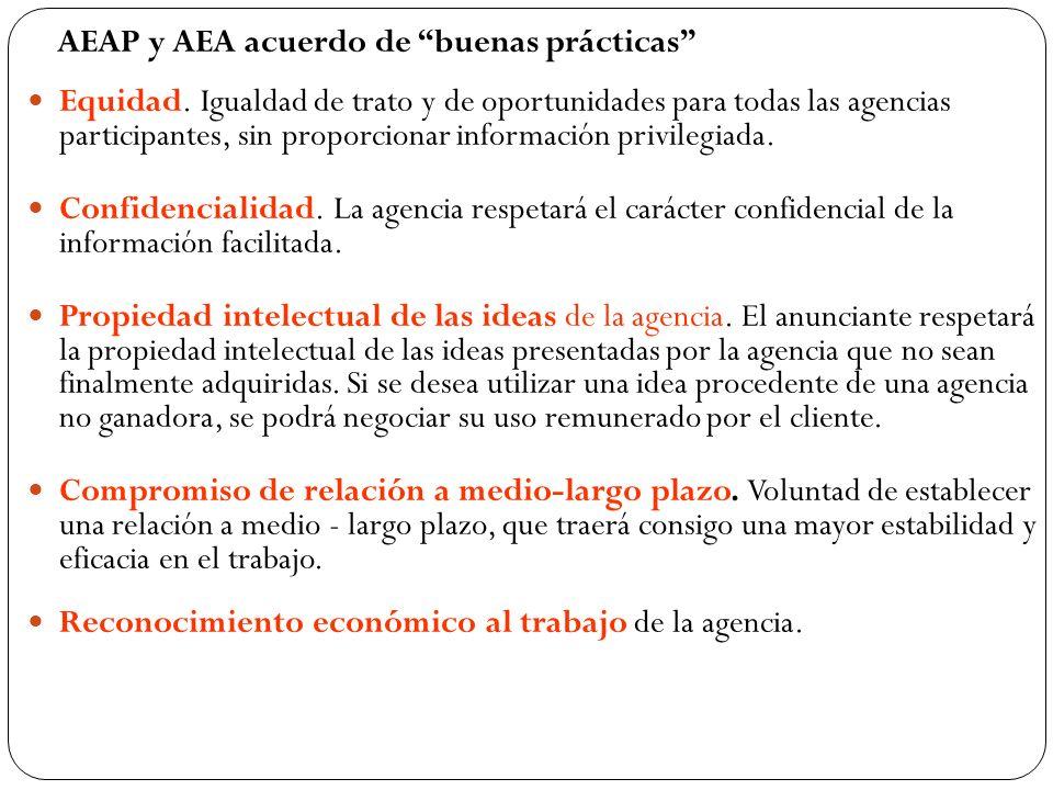 Reconocimiento económico al trabajo de la agencia.