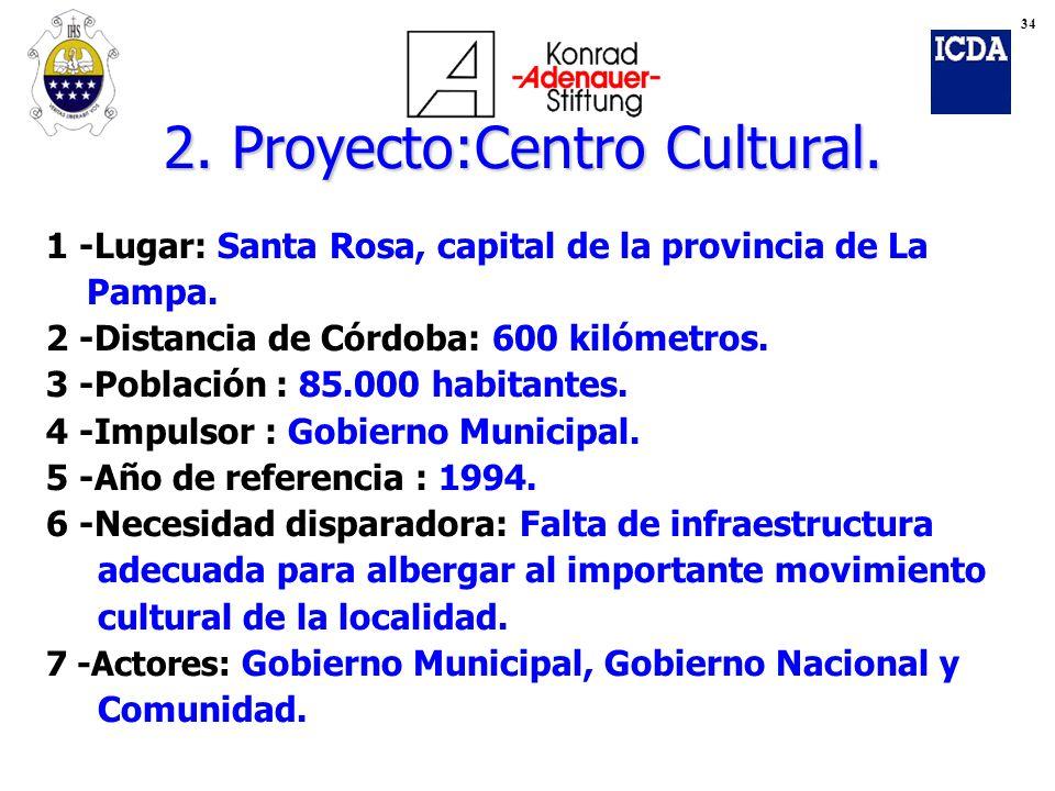 2. Proyecto:Centro Cultural.