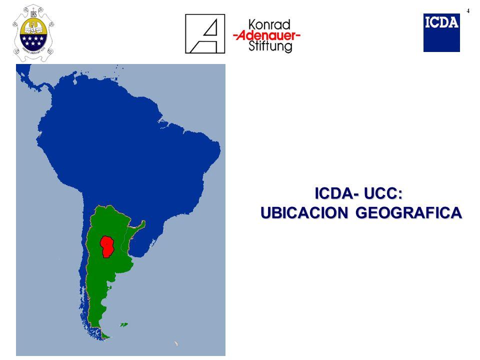 ICDA- UCC: UBICACION GEOGRAFICA