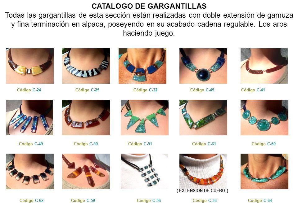 CATALOGO DE GARGANTILLAS