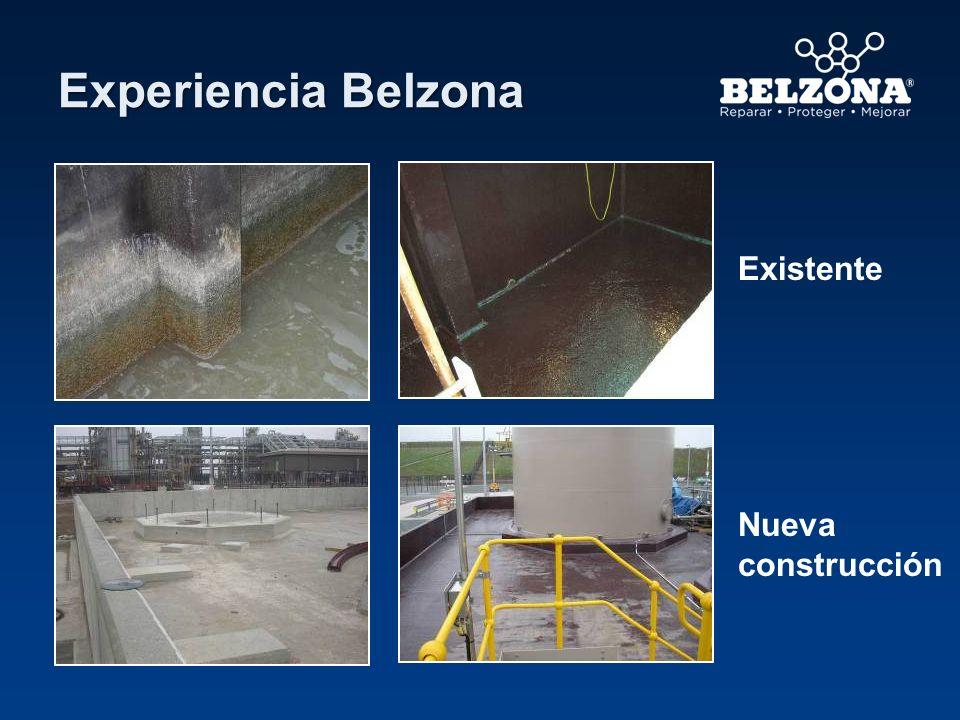 Experiencia Belzona Existente Nueva construcción